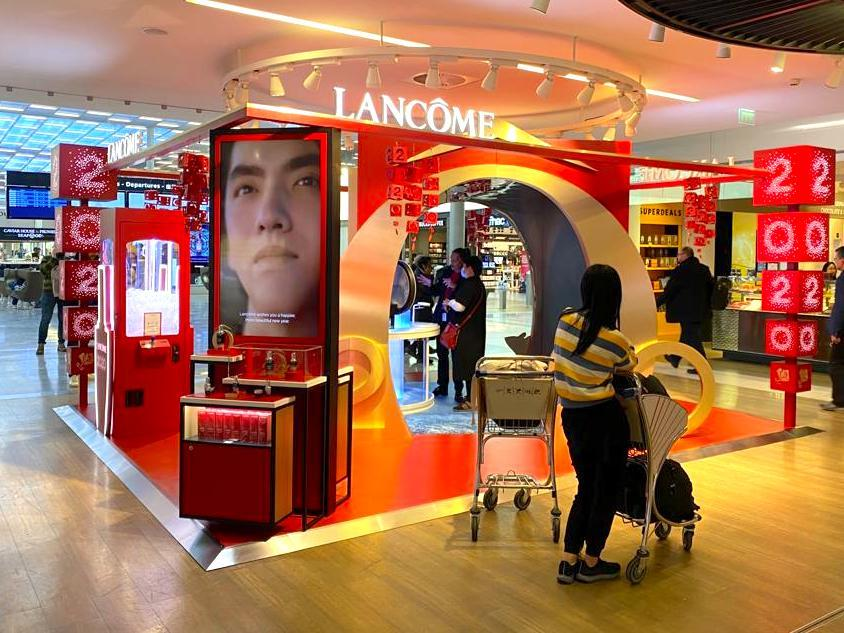 pop up Lancome LBL